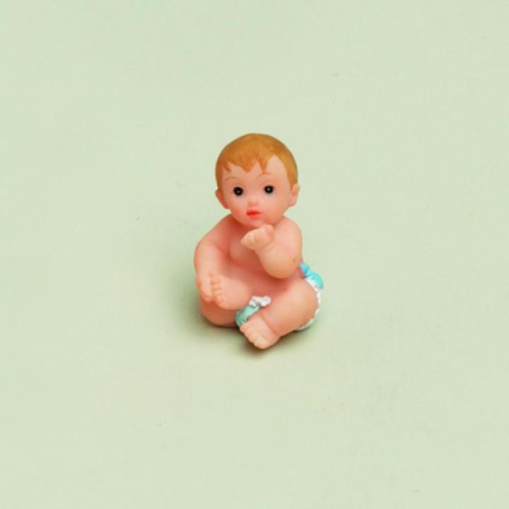 Lot de Bébés garçon 3,5 cm