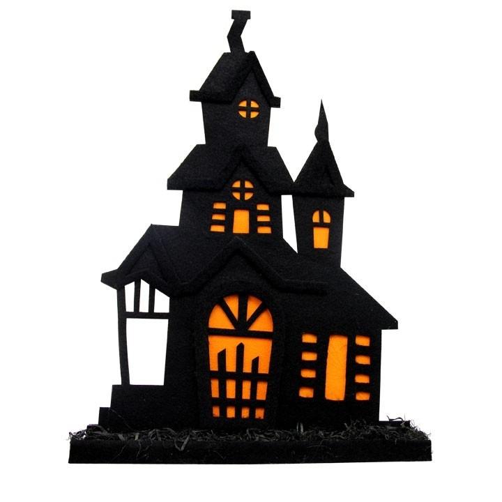 Maison hantée Halloween 48 x 5 x 37 cm