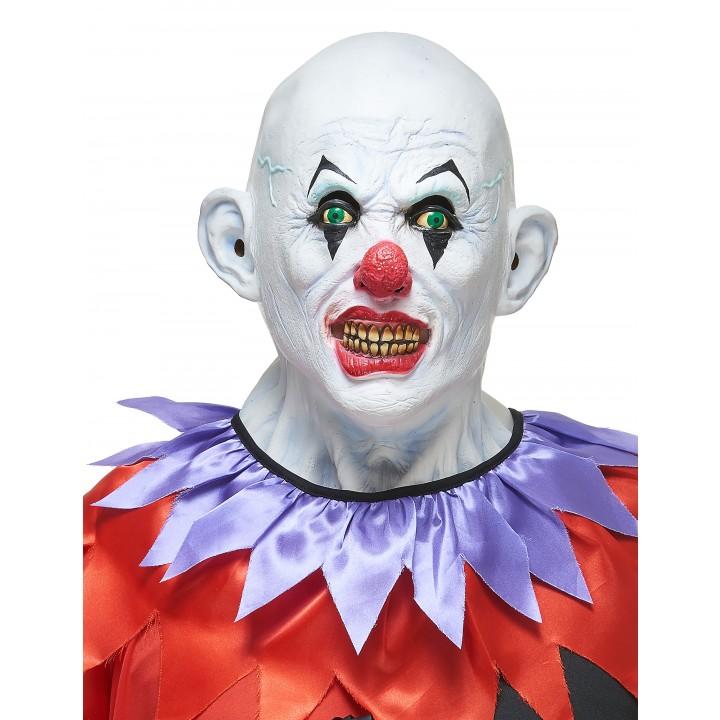Masque de clown méchant Halloween en latex