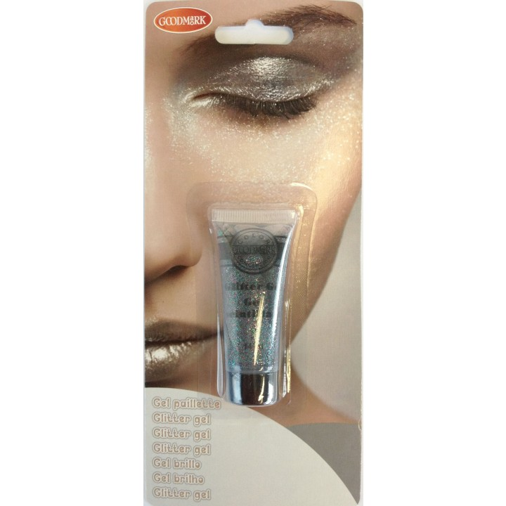 Maquillage gel pailleté multicolore
