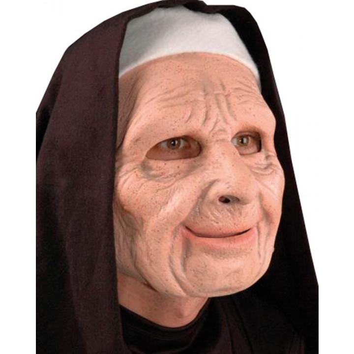 style exquis dernière conception magasiner pour les plus récents Masque Bonne sœur bouche articulée Halloween