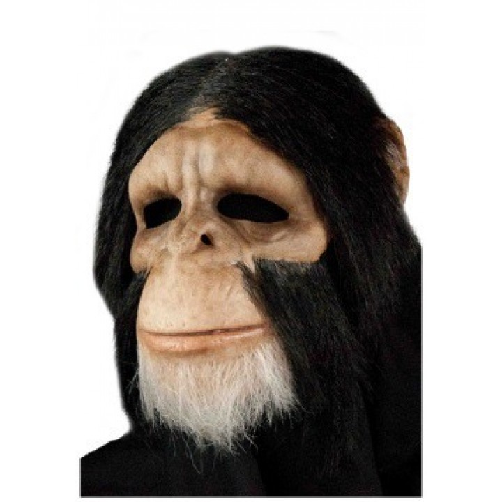 Masque Chimpanzé de luxe Halloween