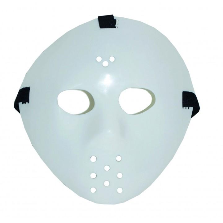 Masque de hockey phosphorescent Halloween
