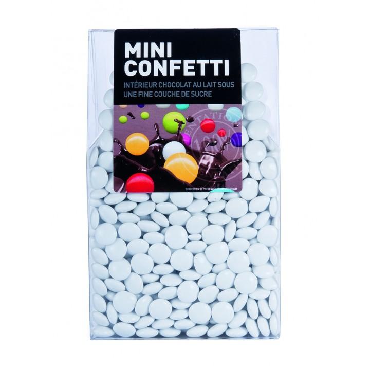 Mini Confetti blanc chocolat au lait 200 gr