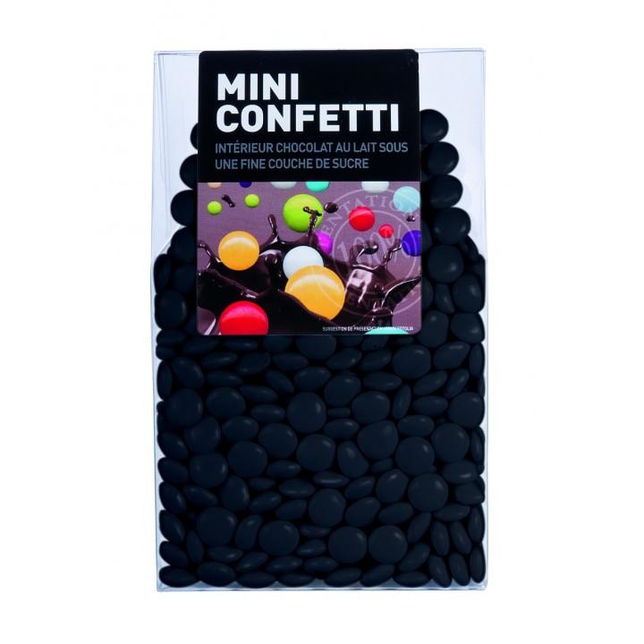 Mini Confetti Noir chocolat au lait 200 gr