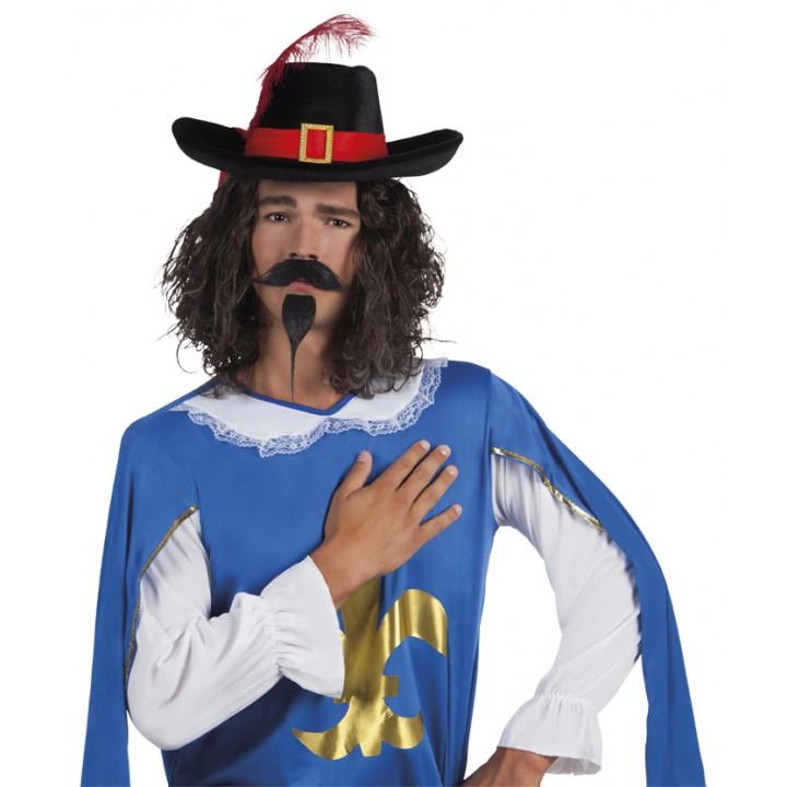 Moustache et barbe de mousquetaire