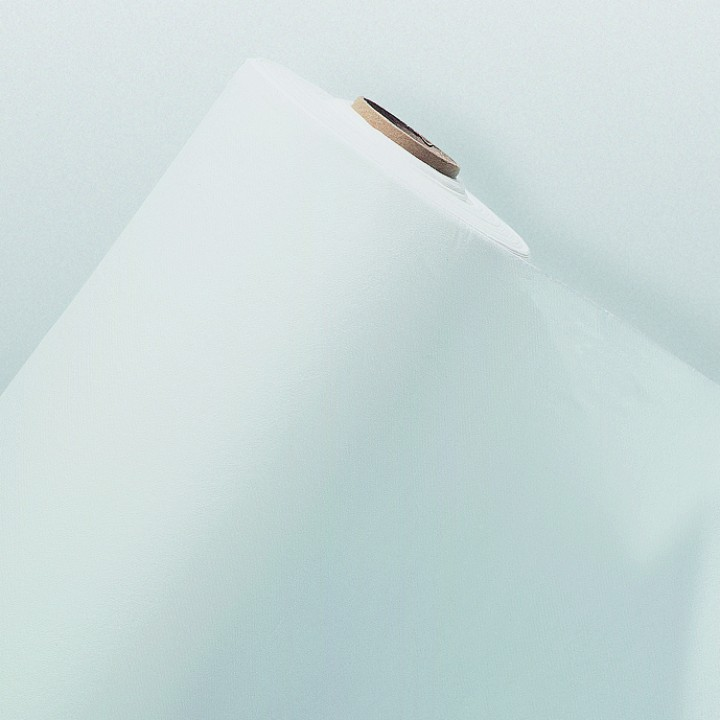 Nappe en papier gaufré blanche 10M