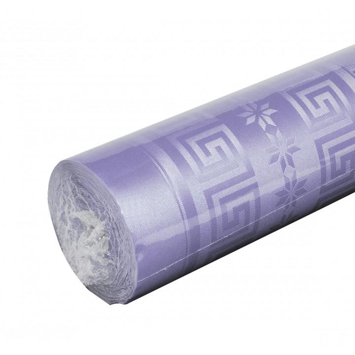Nappe parme  papier damassé 25 m
