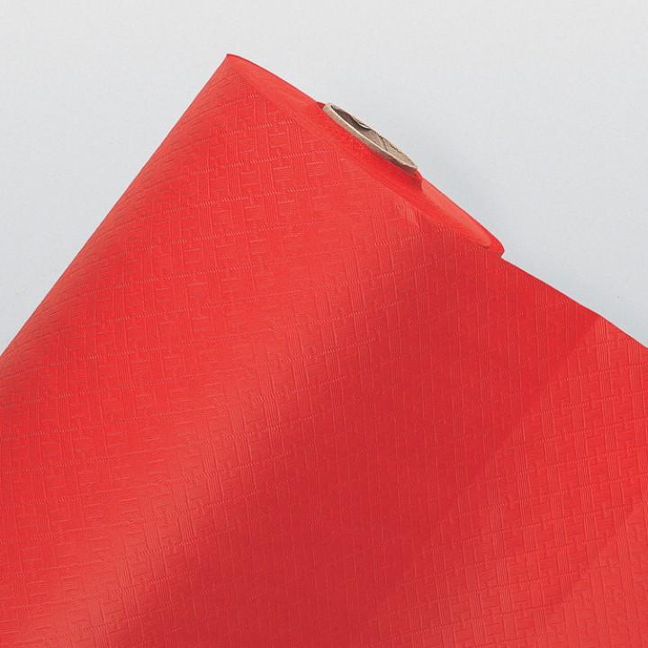 Nappe rouge en papier gaufré 25M