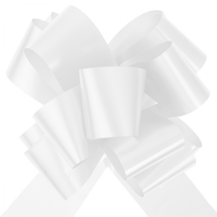 Noeud automatique blanc 350 mm