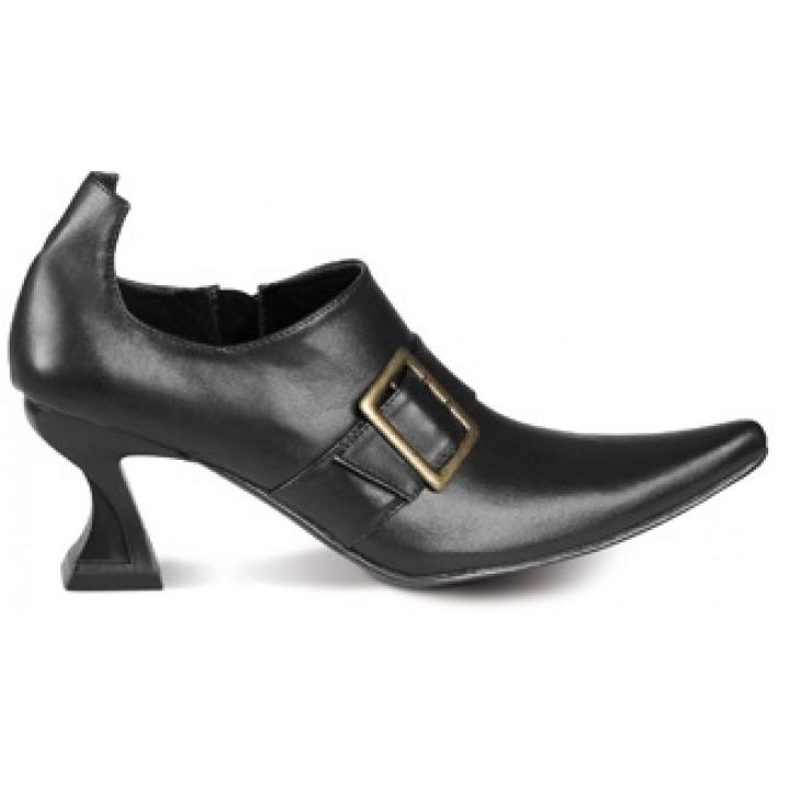 Paire de chaussures de sorcières halloween pour femme