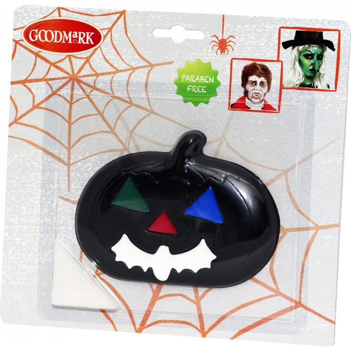 Palette de maquillage pumpkin halloween