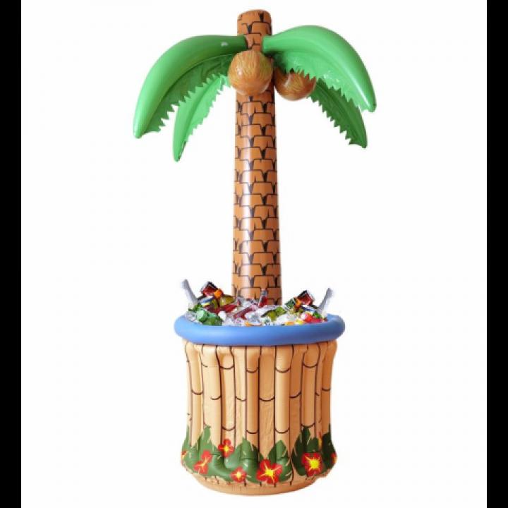 Palmier gonflable bac à boissons