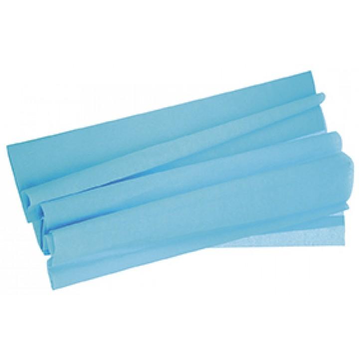 Papier crépon turquoise 50 cm x 2 m