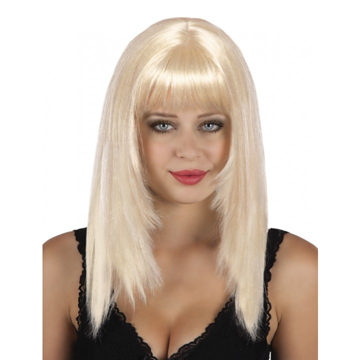 Perruque cheveux longs Spicy  blonde