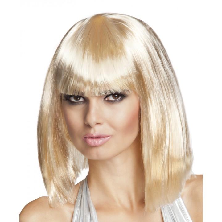 Perruque dance blonde