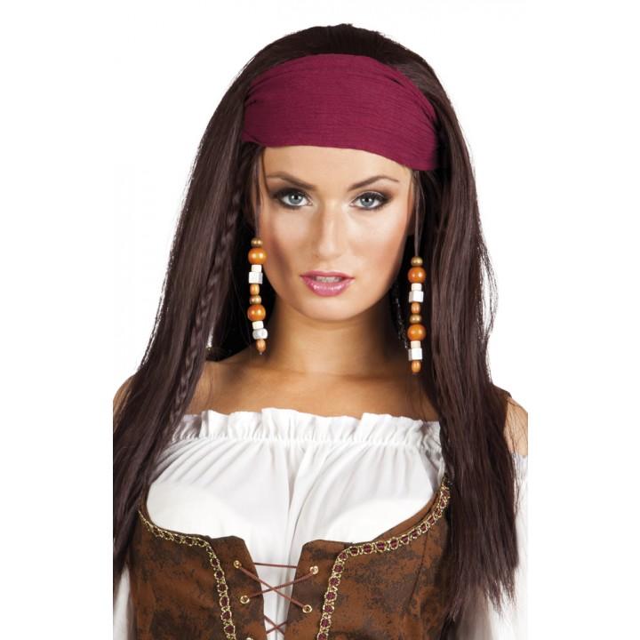 Perruque Pirate Trinity femme