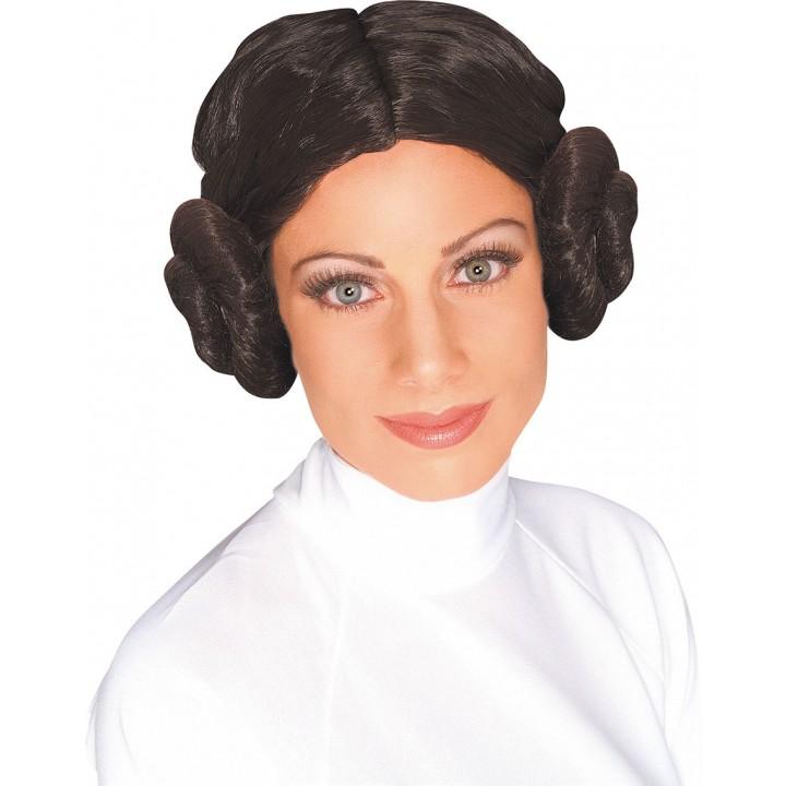 Perruque Princesse Leïa