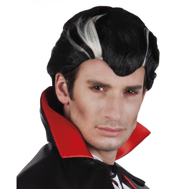Perruque vampire pour homme Halloween