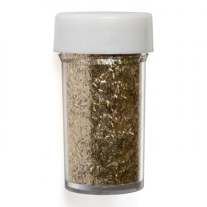 Pot de paillettes longues or 20 gr