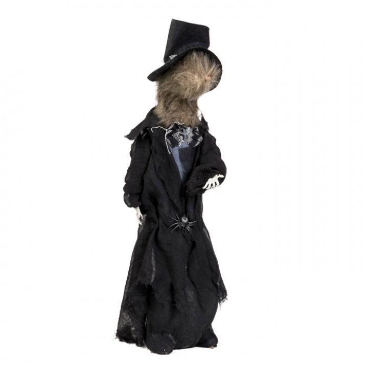 Rat en smoking noir  Halloween 51 x 41 x 11 cm