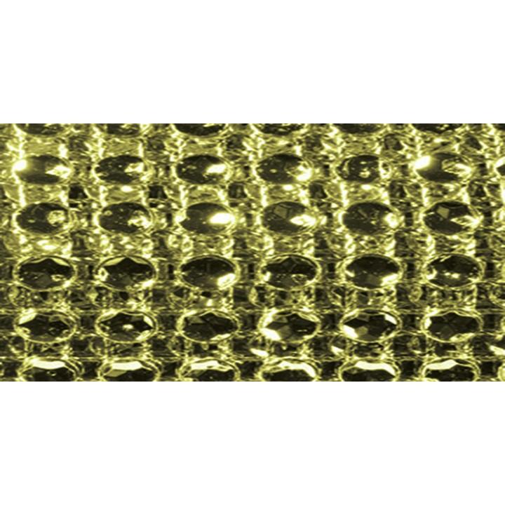 Ruban diamants or 6 cm x 1,80 m