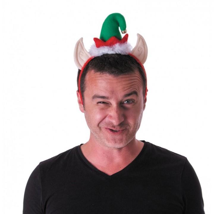 Serre-tête Elfe Noël
