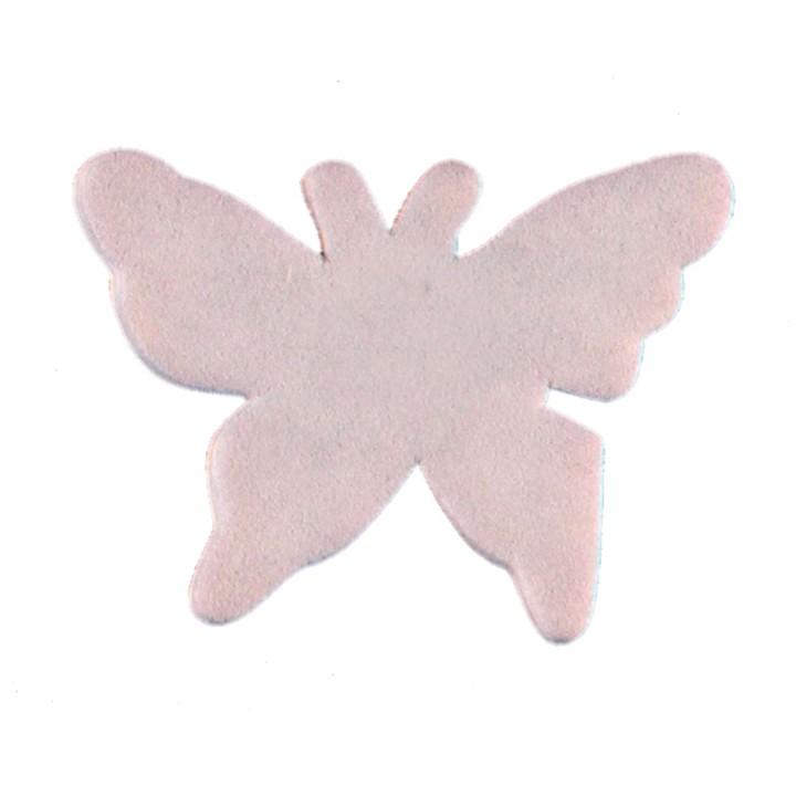 Sachet de 15 papillons gomme gris