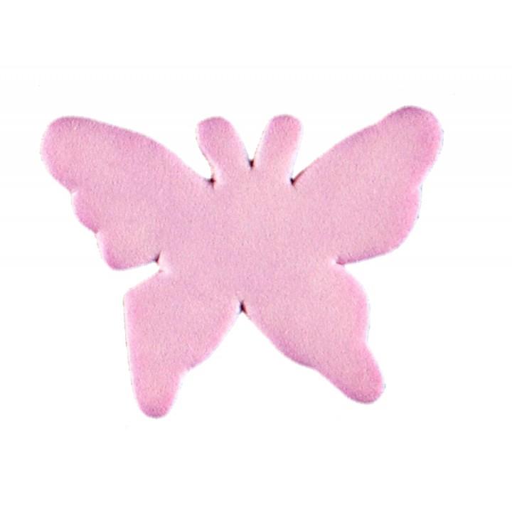 Sachet de 15 papillons gomme lilas