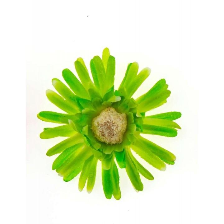 Sachet de 4 fleurs  gerberas vertes