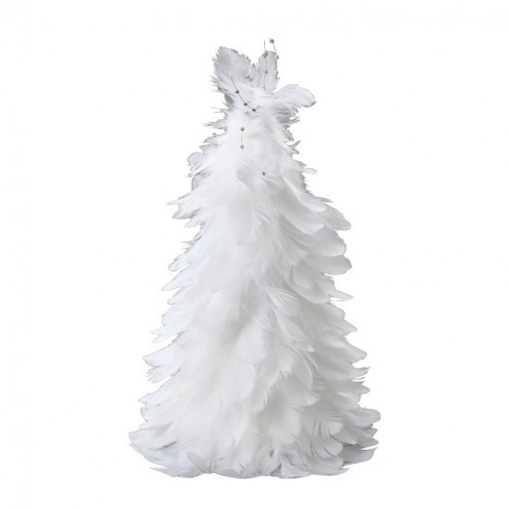 Sapin Blanc en plume 30 cm
