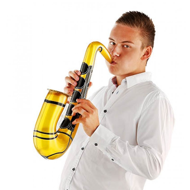 Saxophone gonflable or