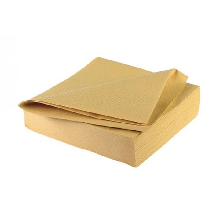 serviettes camel paisses en papier v s che ava 40 x 40 cm. Black Bedroom Furniture Sets. Home Design Ideas