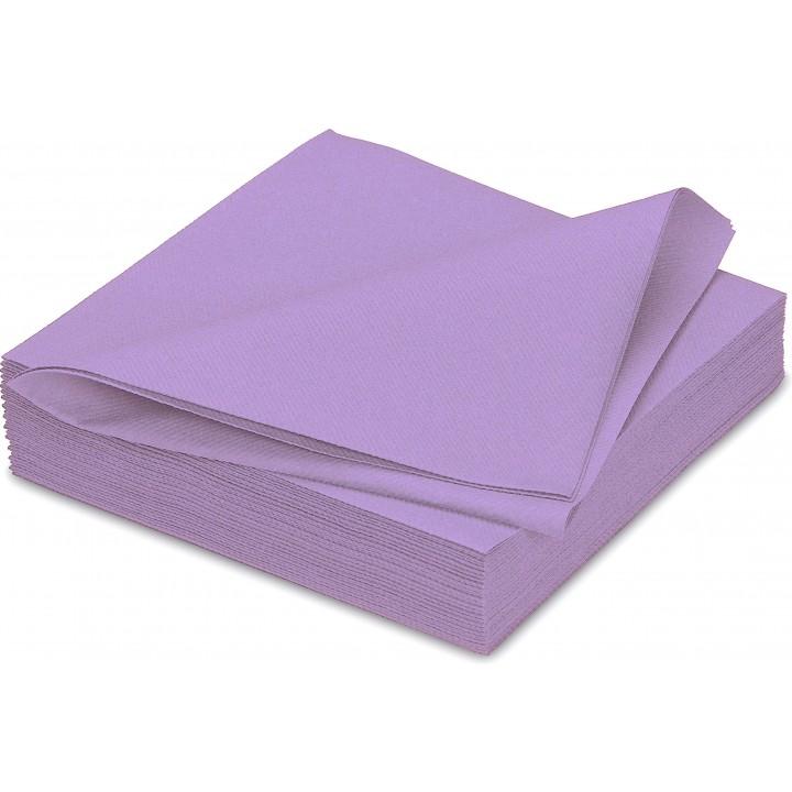 serviettes lavande paisses en papier v s che ava 40 x 40 cm. Black Bedroom Furniture Sets. Home Design Ideas