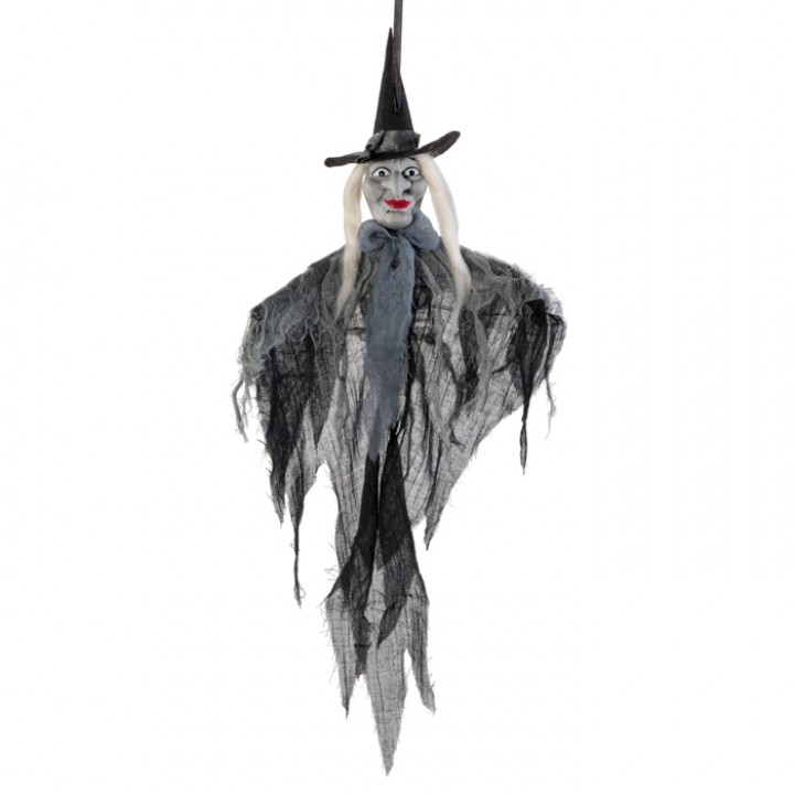 Sorcière à suspendre Halloween 30 x 12 x 68 cm