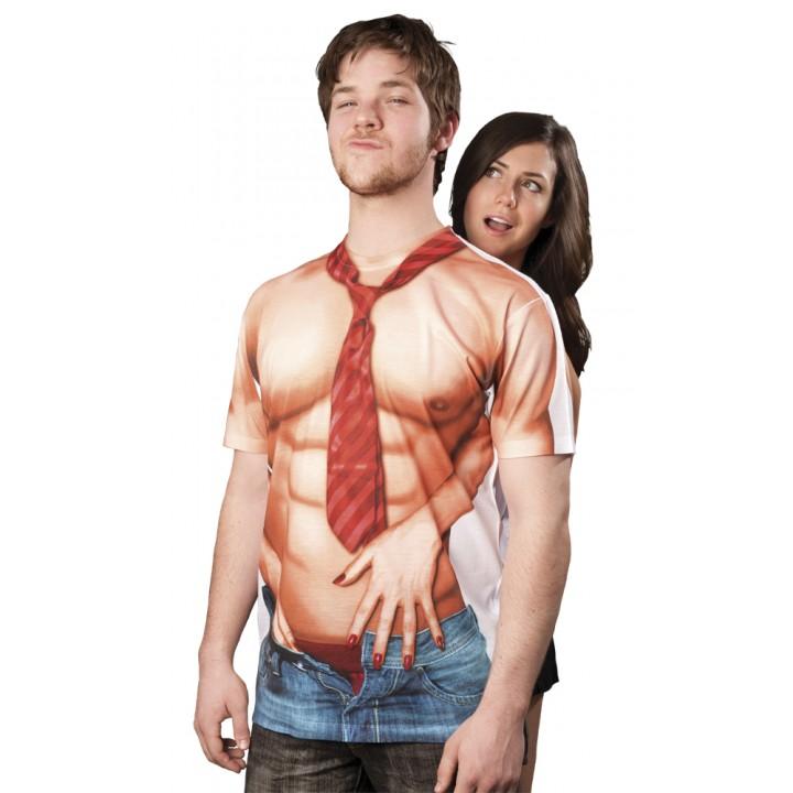 T-shirt torse nu sexy