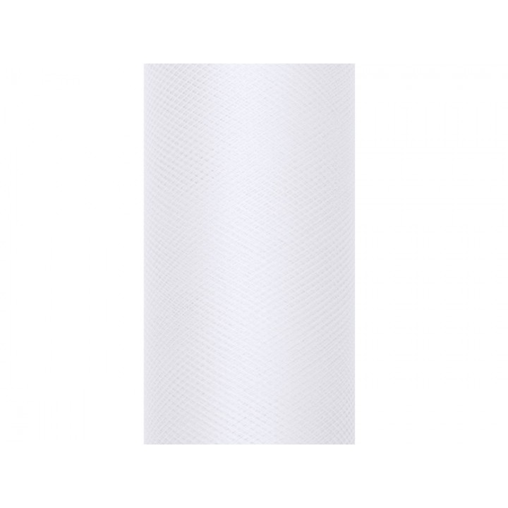 Tulle blanc 30 cm x 9 m