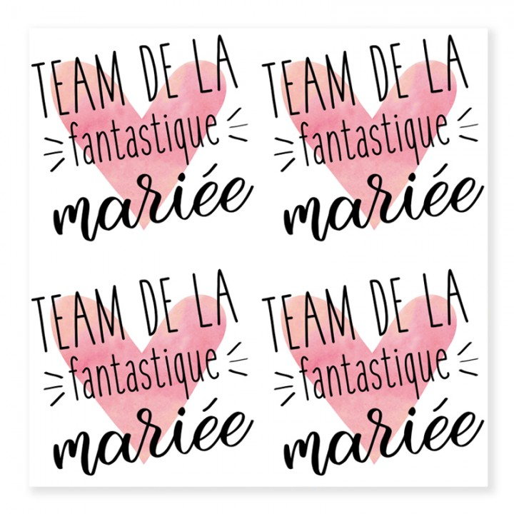 Tatouage Ephemere Amies De La Mariee