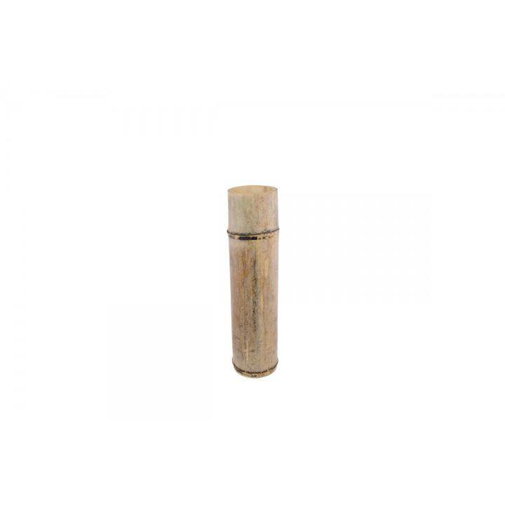 Tube en bambou 8 x 35 cm