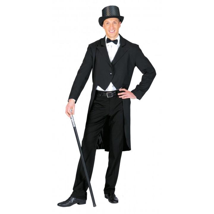 Veste queue de pie homme noire 8120da1ba50