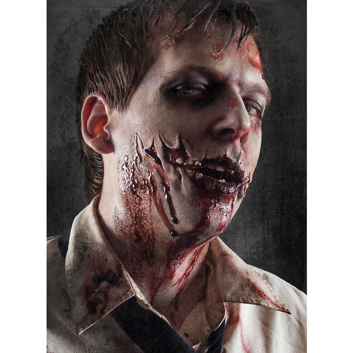 Zombie bouche réduite Halloween
