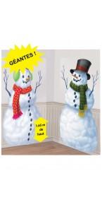 Scene setter Bonhomme de neige 165 cm x 85 cm