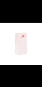 Lot de 6 pochettes kraft rose poudré 10,5 x 18 cm