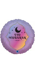 Lot de 6 ballons Eid Mubarak latex