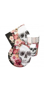 Assortiment Day of the dead 24 pièces