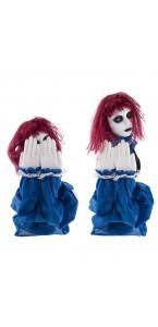 Automate fille de l'horreur animée Halloween