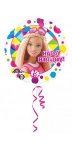 Ballon Barbie Happy Birthday
