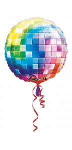 Ballon boule dancing Disco fever 70's 81 cm