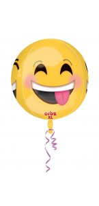 Ballon Emoticon orbz 38 x 40 cm
