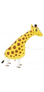 Ballon Girafe aluminium